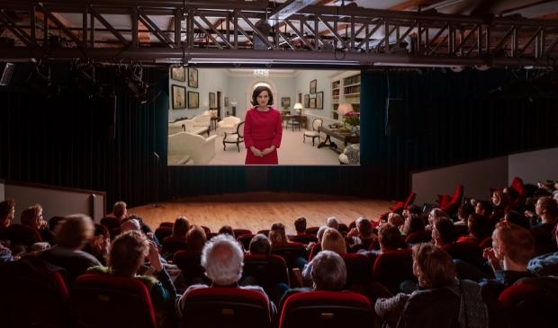 <p>Cinema Enkhuizen heeft volwaardige bioscoopzaal.</p>