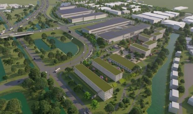 <p>Artist Impression City Logistics Innovation Campus: Somerset.</p>