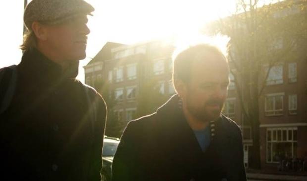 <p>Niels van der Gulik en Joost Botman.</p>