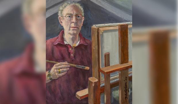 <p>Tekenen en schilderen was de grootste passie van Dirk Oosterbaan.</p>