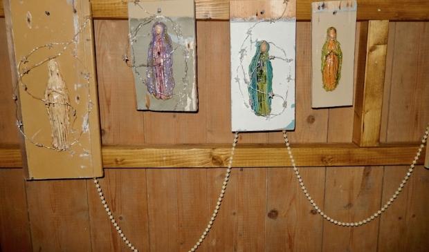 <p>Maria is goed vertegenwoordigd in de tentoonstelling.</p>