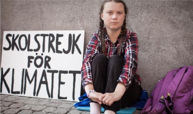 <p>Greta Thunberg.</p>