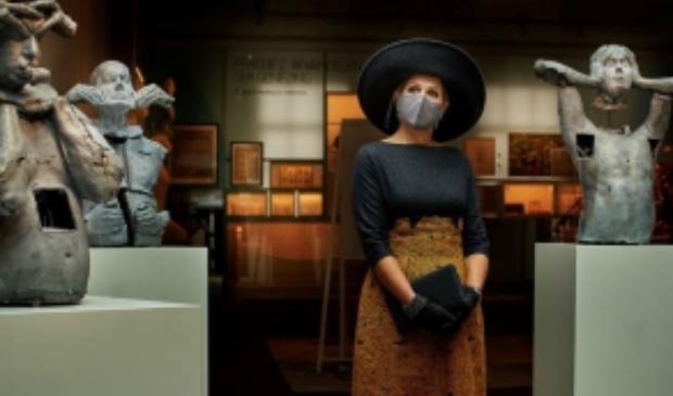 <p>Koningin M&aacute;xima opende dinsdag het vernieuwde Museum van de Geest | Dolhuys.</p>