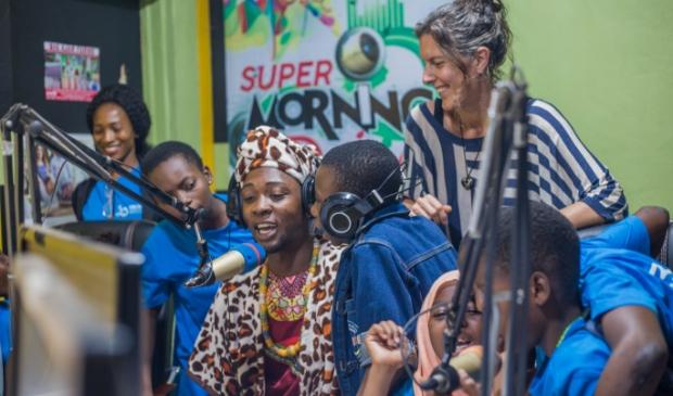 <p>Carole Donkers kan zich geen leven zonder Ghana voorstellen.</p>