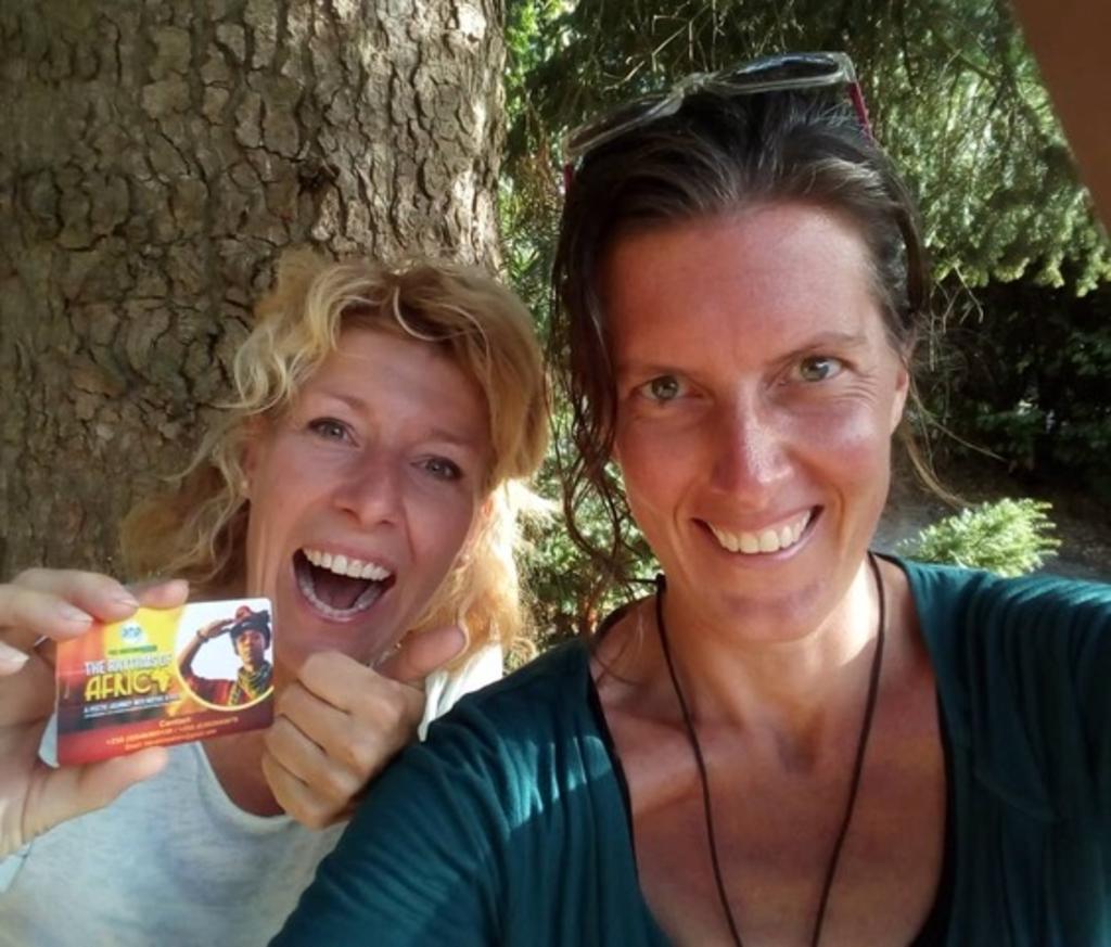 <p>Sandra Korse en Carole Donkers.</p> <p>(Foto: aangeleverd)</p> © rodi