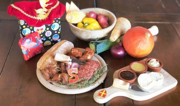 Gourmetten - altijd gezellig in de decembermaand.