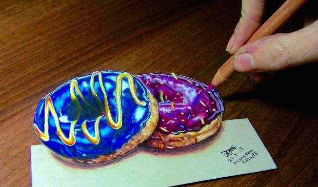 <p>Ook zo&#39;n gave 3D potloodtekeningen op papier maken? Doe mee aan de workshop!&nbsp;</p>