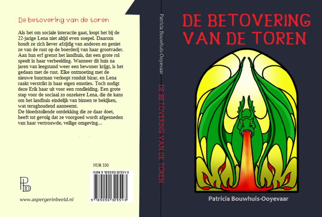omslag 'De betovering van de toren' (Foto: illustratie: P. Bouwhuis-Ooyevaar) © rodi