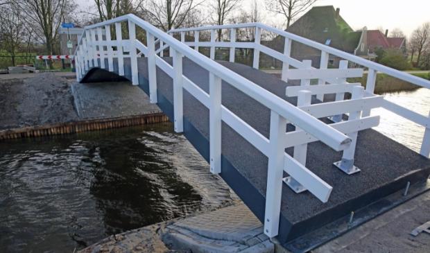 <p>De Veenhuizerbrug is helemaal vernieuwd.</p>