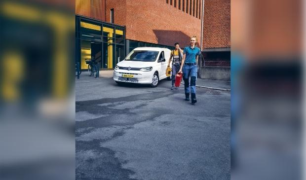 De nieuwe Volkswagen Caddy.