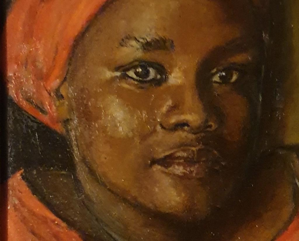 vrouw in rood (Foto: Jan Koomen) © rodi