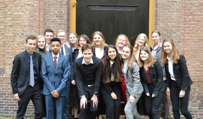 De Waardse 'MEP-ers' in Haarlem.