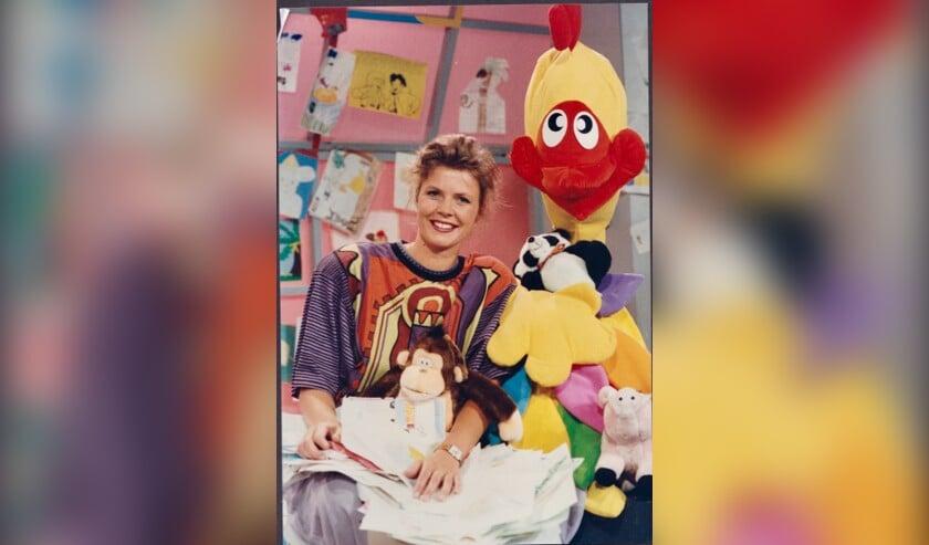 Irene stond in 1989 aan de wieg van het kersverse programma Telekidsop RTL Veronique.