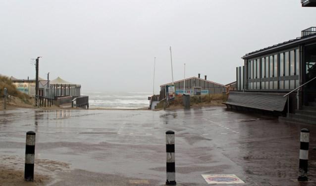 Troosteloos weer in Egmond aan Zee en omgeving.