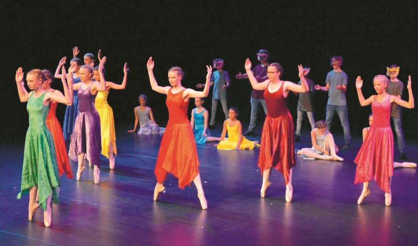 Leerlingen van Het Rinket krijgen een balletworkshop op 10 februari.