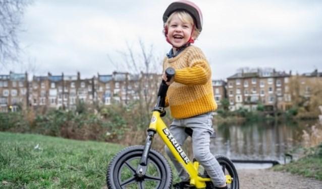 Strider Bikes ambassadeurs in Den Helder