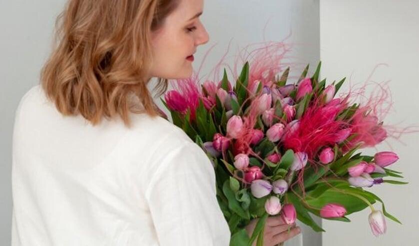Tulipa ´Dynasty´, ´First Class´, ´Aafke´, ´Flaming Flag´.