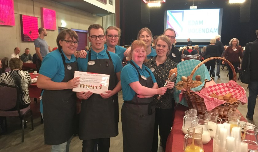Het vrijwilligersontbijt in PX Volendam.