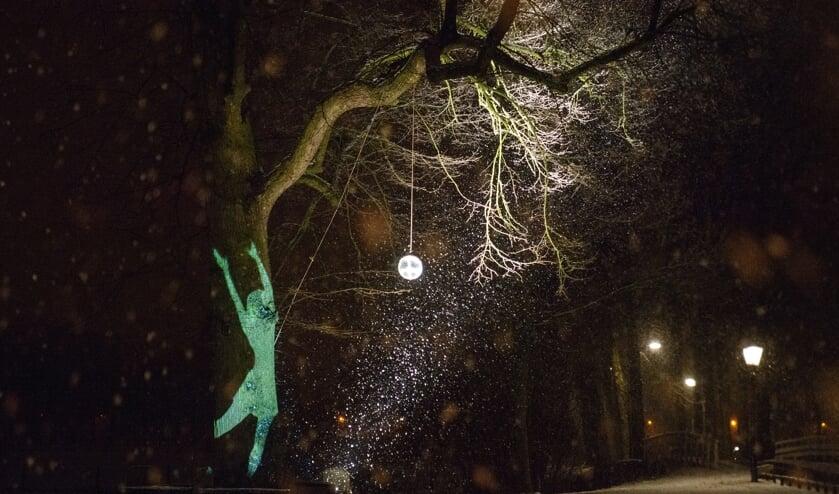 Magisch licht in de Alkmaarse binnenstad.