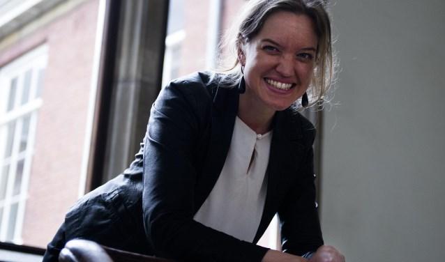 Renee Kelder (1985) geeft workshops creatief schrijven in de bibliotheken Edam en Volendam.