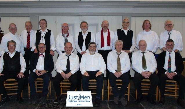 'JustMen' kan nog wat mannenstemmen eventueel gebruiken.