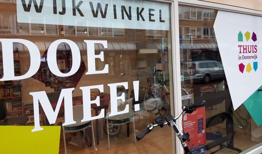 De Wijkwinkel op het Europaplein.