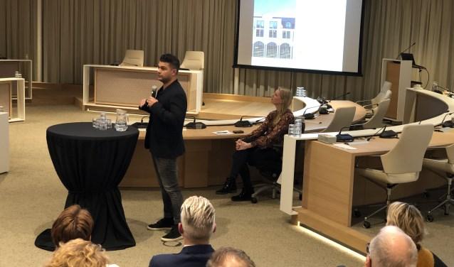Sander Mook vertelt over de plannen van en met de Markthal.