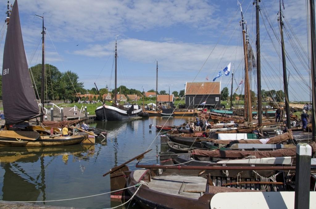 Zicht op haventje van Zuiderzeemuseum. (Foto: WilvanderVelde) © rodi
