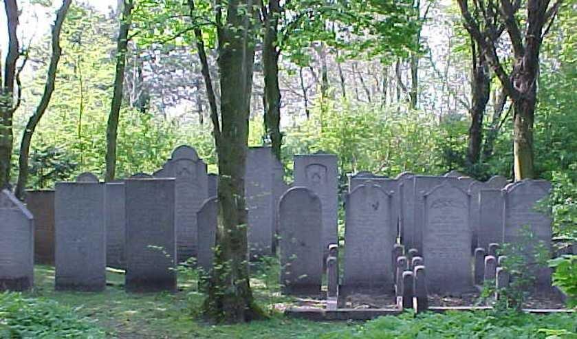 De Joodse graven op Duinrust.