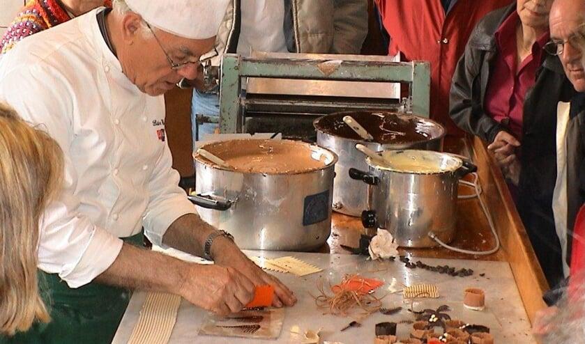 De lekkerste bonbons maak je in het bakkerijmuseum.