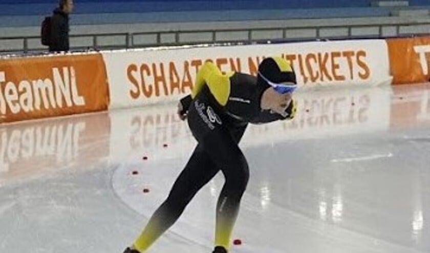 De Purmerendse schaatsenrijder Nick Bontrop.