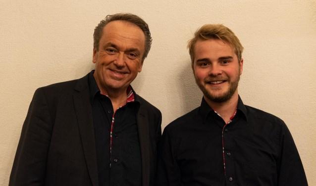 Martin Mans en Mark Brandwijk geven een dubbelconcert.