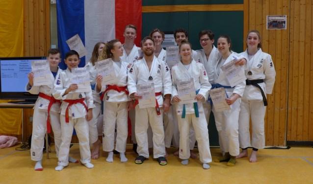 Internationale wedstrijdteam van Shi-Sen-Do.