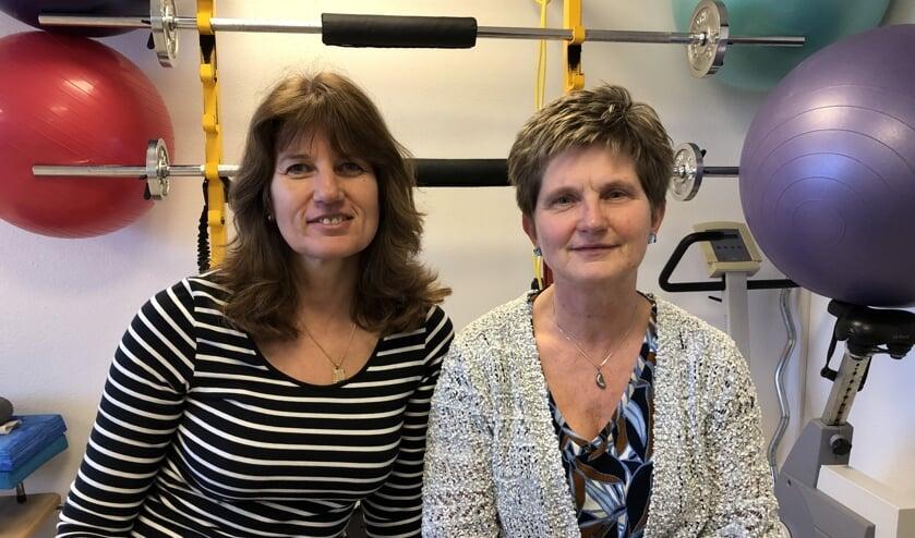 Tonnie Tijsterman en Annette Roordink van Fysiotherapie Waterlandhuis