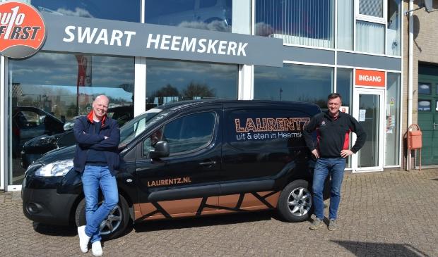 Rob Swart van Autobedrijf Swart in Heemskerk kent Arjan als jarenlange trouwe klant.