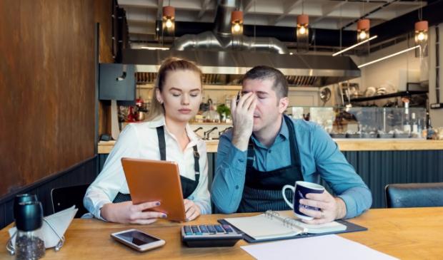 Horeca-ondernemers bezorgd over financiële situatie van het restaurant.