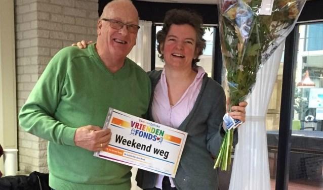 Henk Roerhorst gaat lekker genieten van een weekend weg.