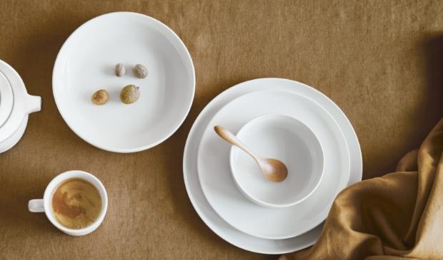 Stijlvol servies in prachtig porselein van Essenza.