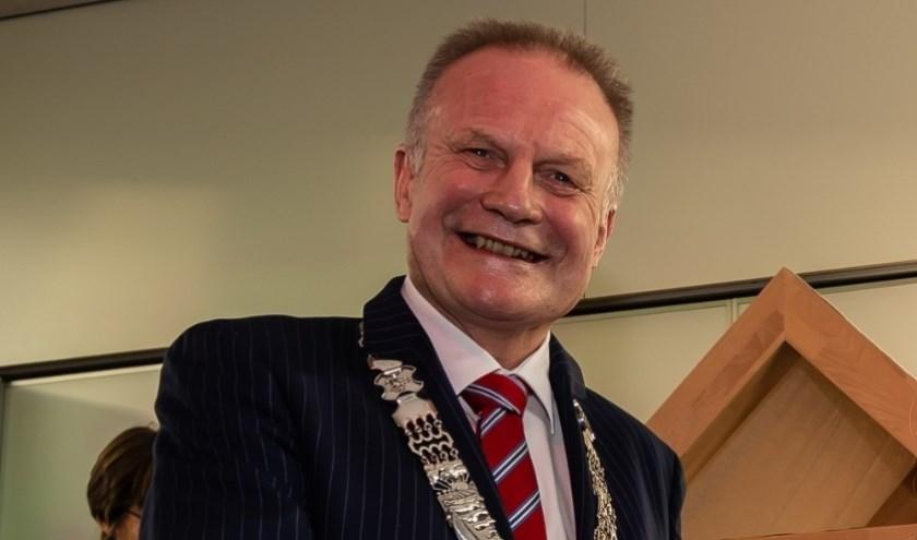 Burgemeester Sicko Heldoorn.