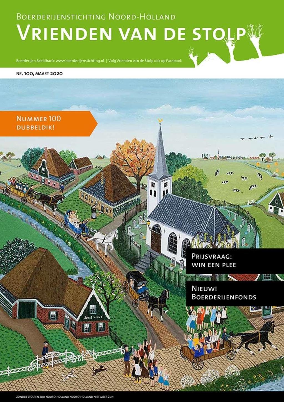 100e cover van het tijdschrift Vrienden van de Stolp. (Foto: aangeleverd) © rodi