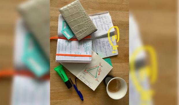 Ouderwetse notitieboekjes helpen goede ideeën bewaren.
