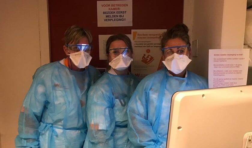Verpleegkundigen op de werkvloer van de Noordwest Ziekenhuisgroep.