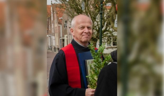 Ds Henk Haandrikman: predikant in Paastijd terwijl corona heerst.