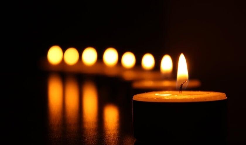Lichtjes in de duisternis, om mensen te laten zien dat je aan ze denkt.