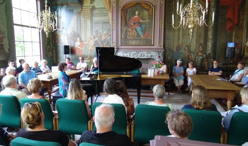 De pianowandeling is een evenement dat al zestien jaar loopt.