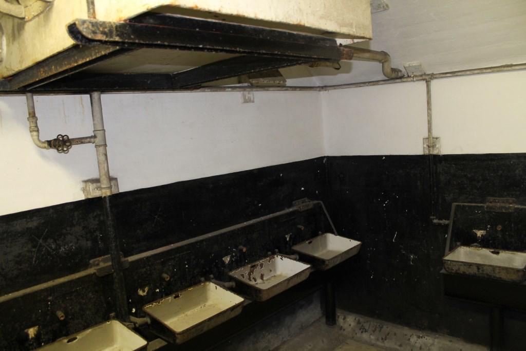 Ook de wasruimte behoudt zoveel mogelijk zijn cultuurhistorische waarde.   © rodi