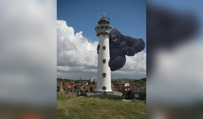 Is de Vuurtoren in de aap gelogeerd?