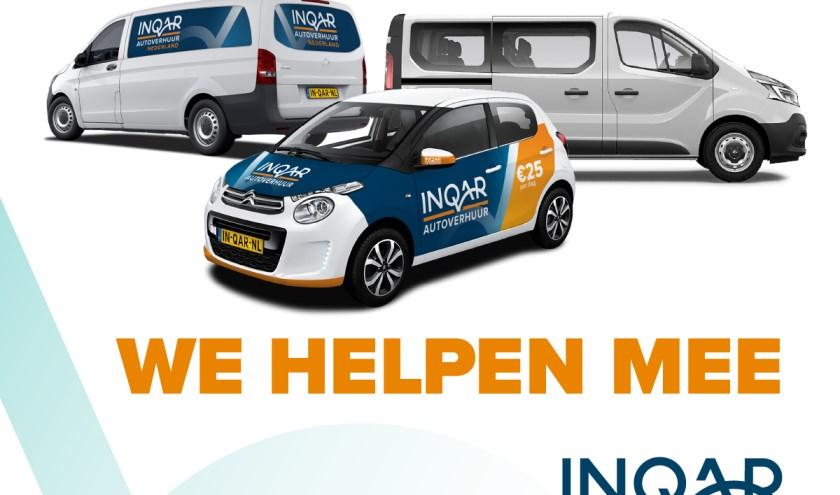 Het autoverhuurbedrijf helpt waar mogelijk.