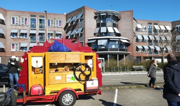 Zondag 22 maart werden de bewoners van Evean Swaensborch in Monnickendam getrakteerd op een draaiorgelconcert