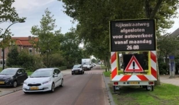 De Alkmaarseweg/Rijkstraatweg wordt medio april veiliger gemaakt.